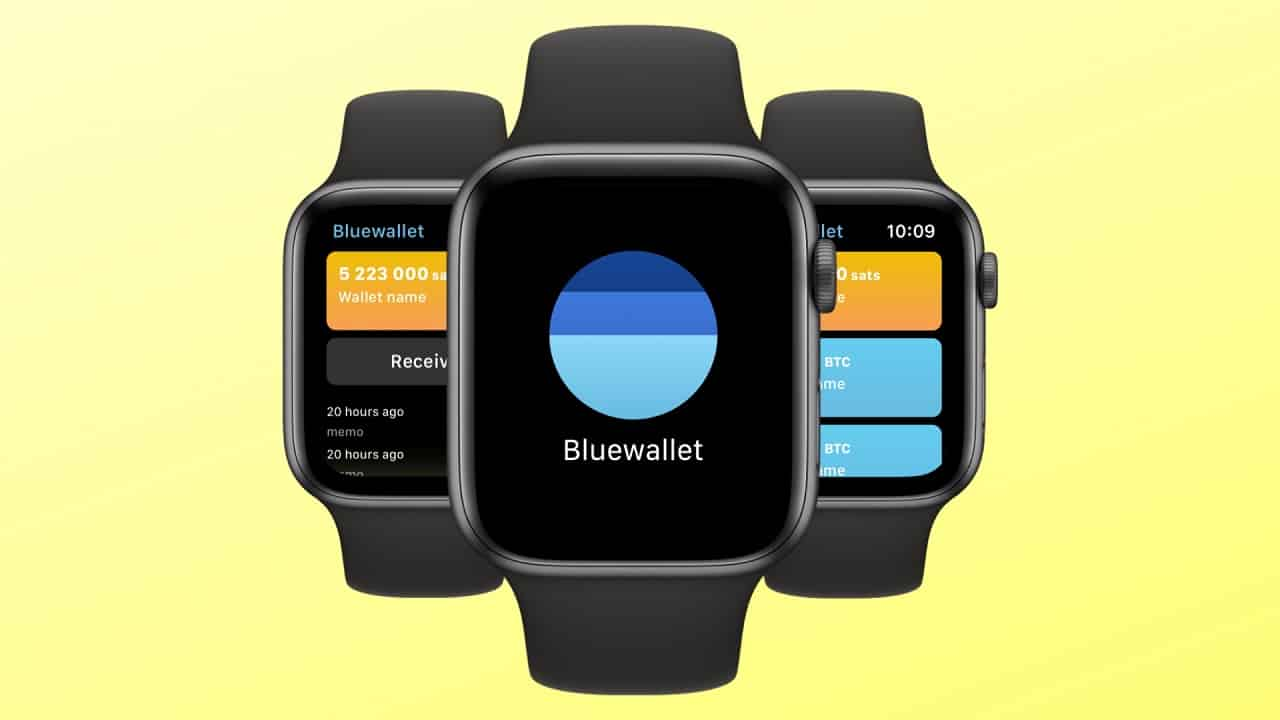 bluewallet anche su smartwatch