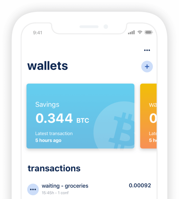 bluewallet bitcoin wallet per mobile